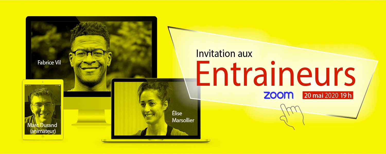 Invitation aux entraineurs