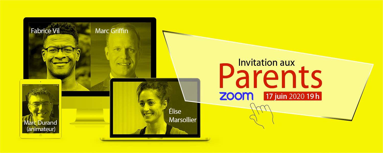 Invitation aux parents