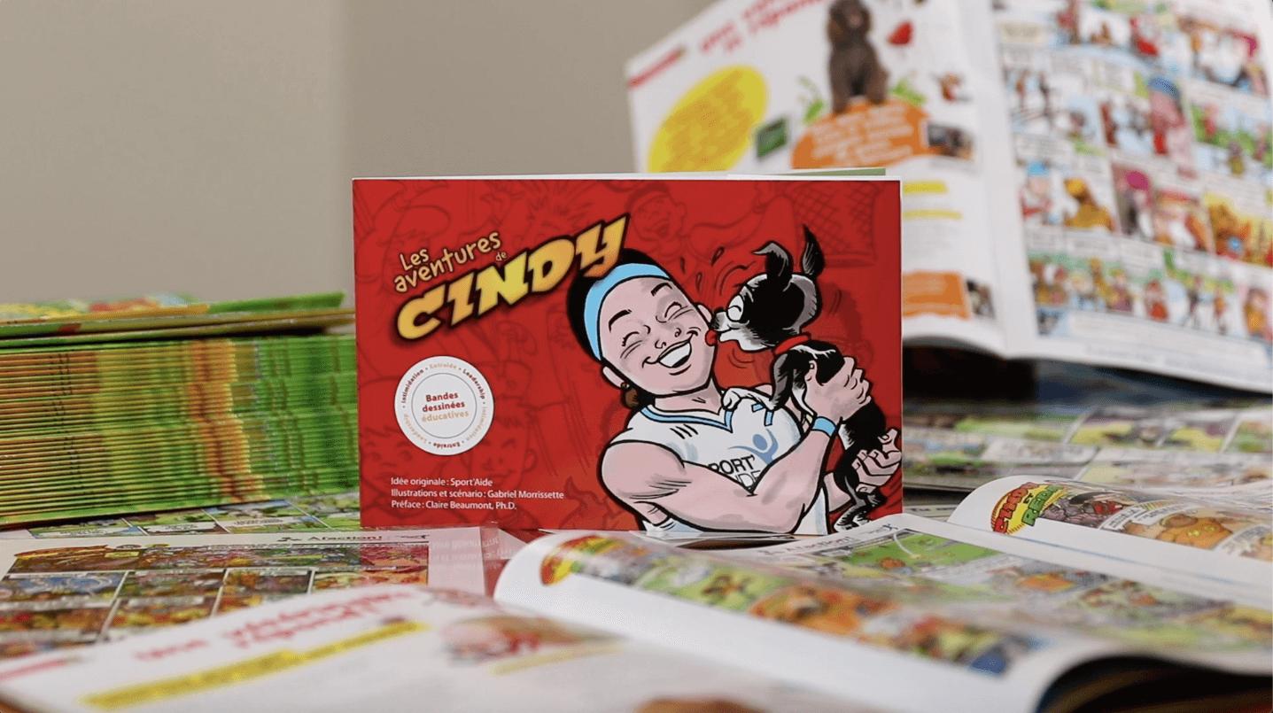 Les aventures de Cindy : un livre de Sport'Aide